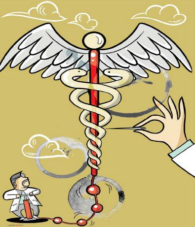 هل تتعطل آلة الرعاية الصحية؟