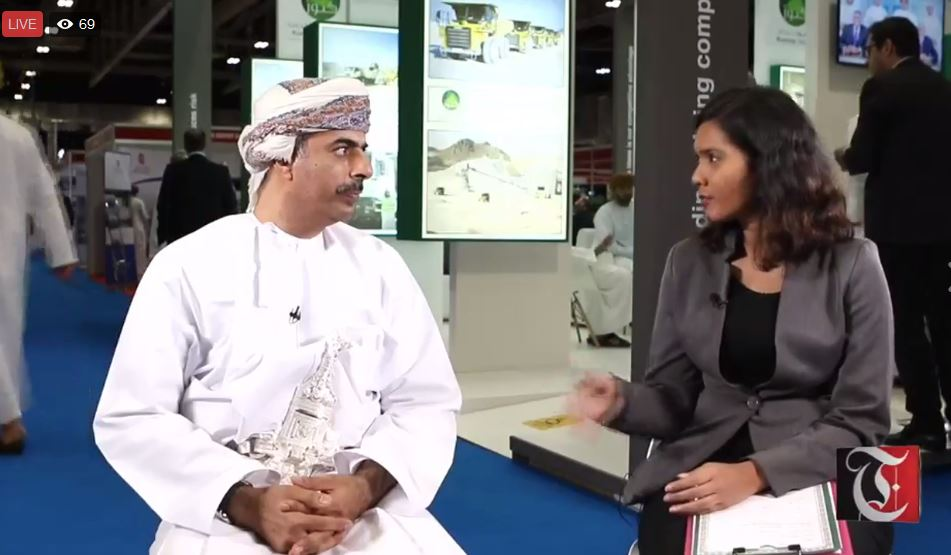 WATCH: Lunchtime Live with Oman's Mining Chief Hilal Al Busaidi