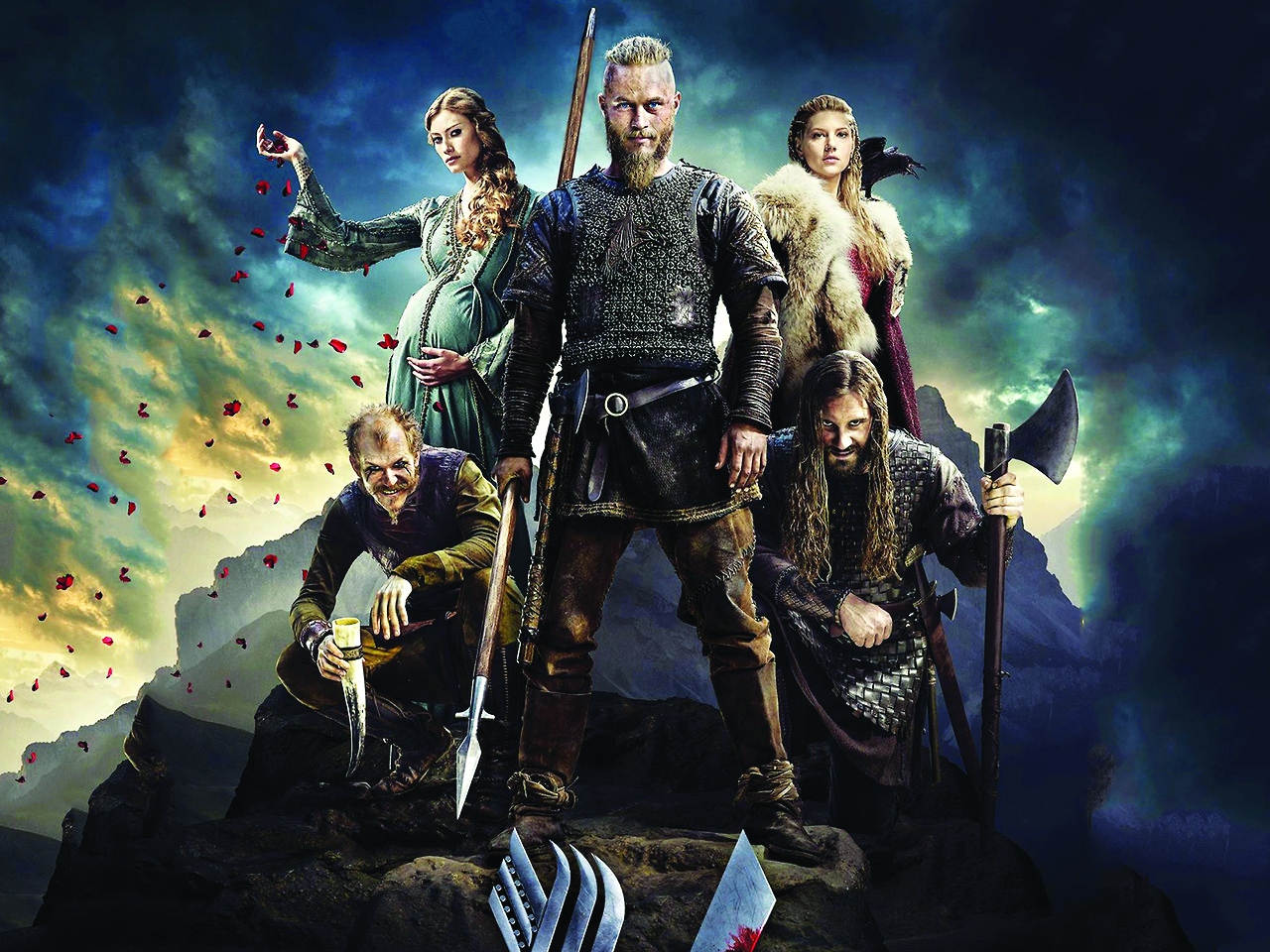 Oman Weekend Download: Vikings is a TV show that explores their amazing history