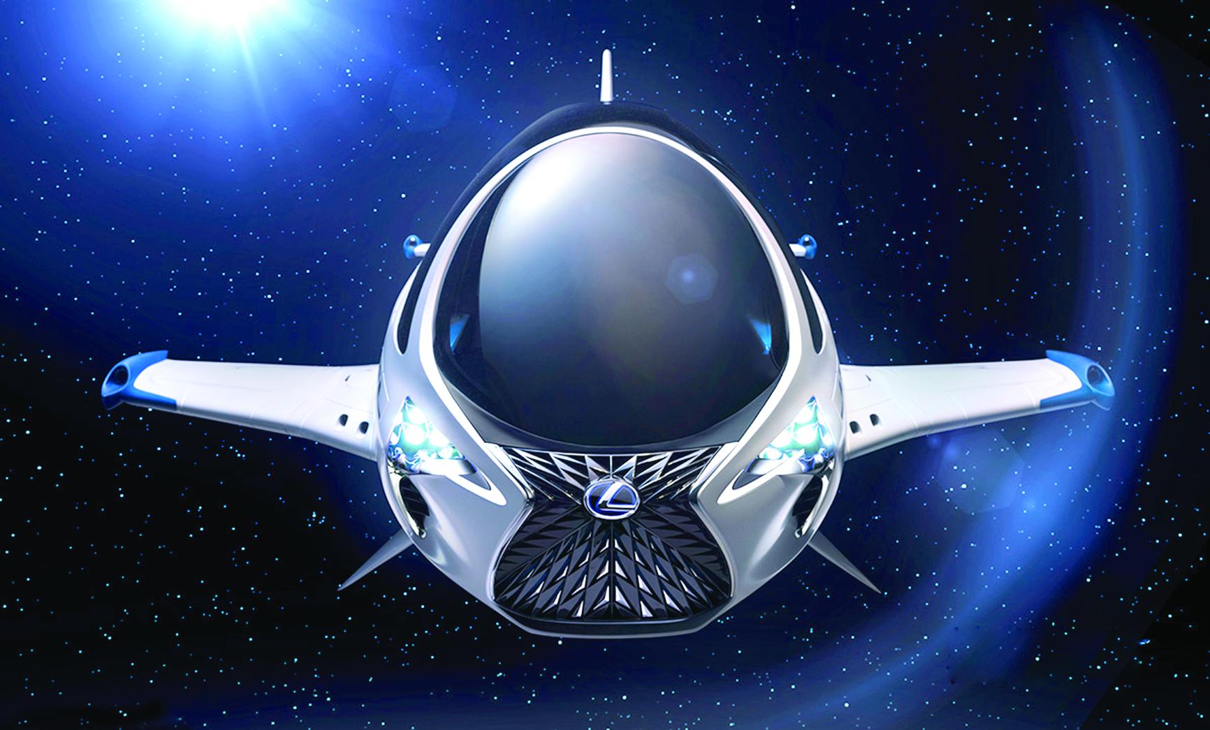 لكزس ويوروبا كورب تكشفان عن المركبة الفضائية سكاي جَت