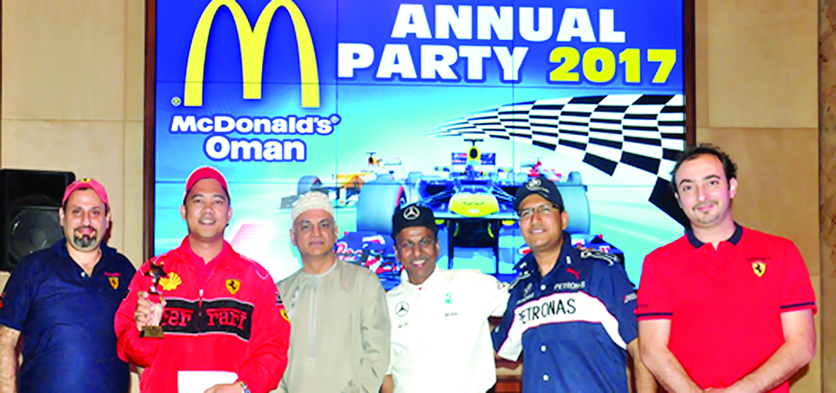 ماكدونالدز عمان تكرّم موظفيها