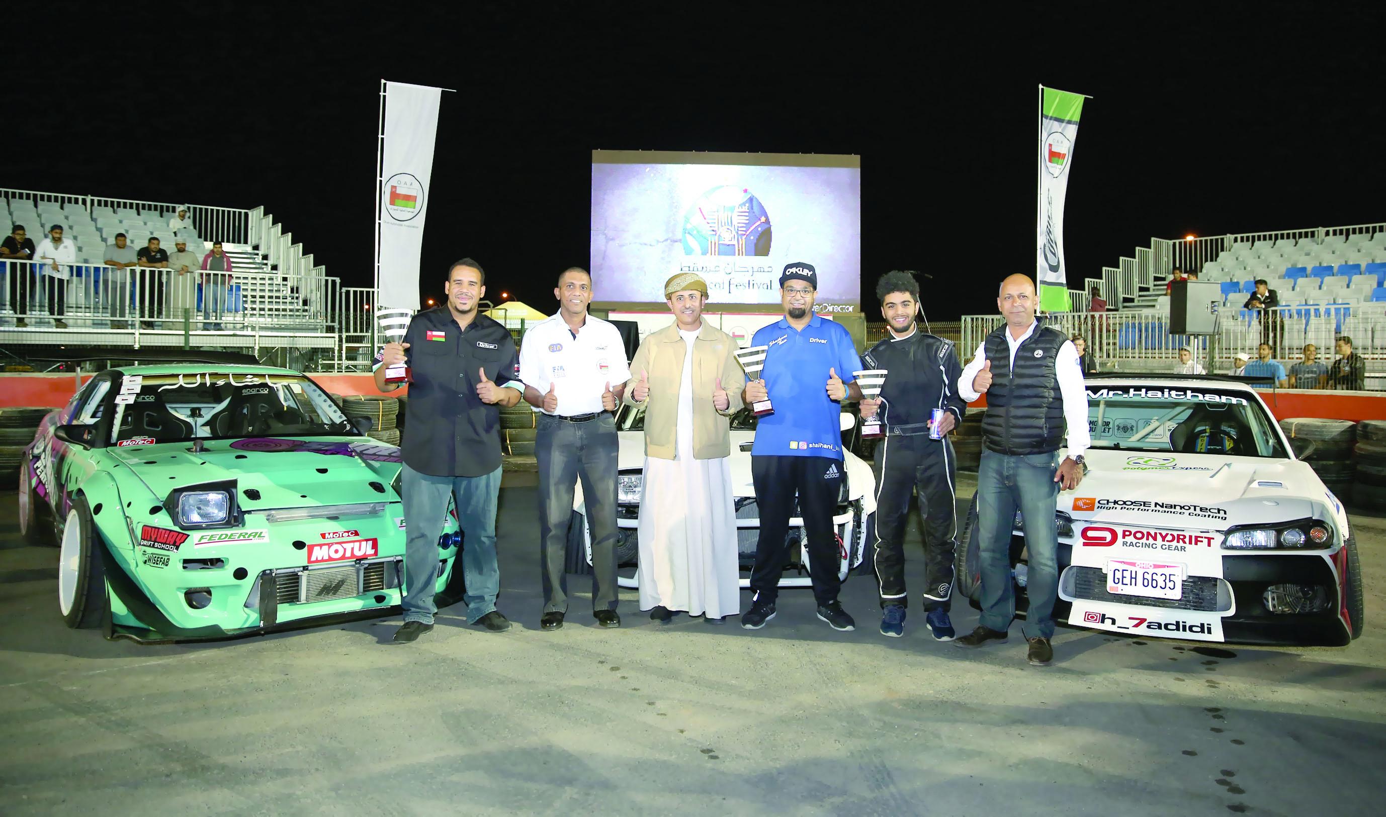 الشيهاني بطلاً للجولة الثالثة من بطولة عُمان للانجراف