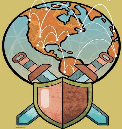 في الدفاع عن العولمة