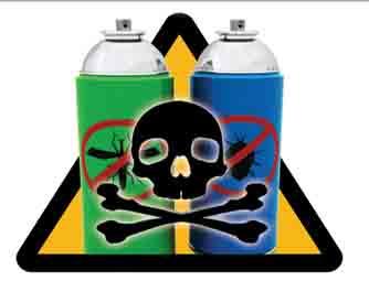 التعرض للمبيدات الحشرية يضر بصحة الكبد