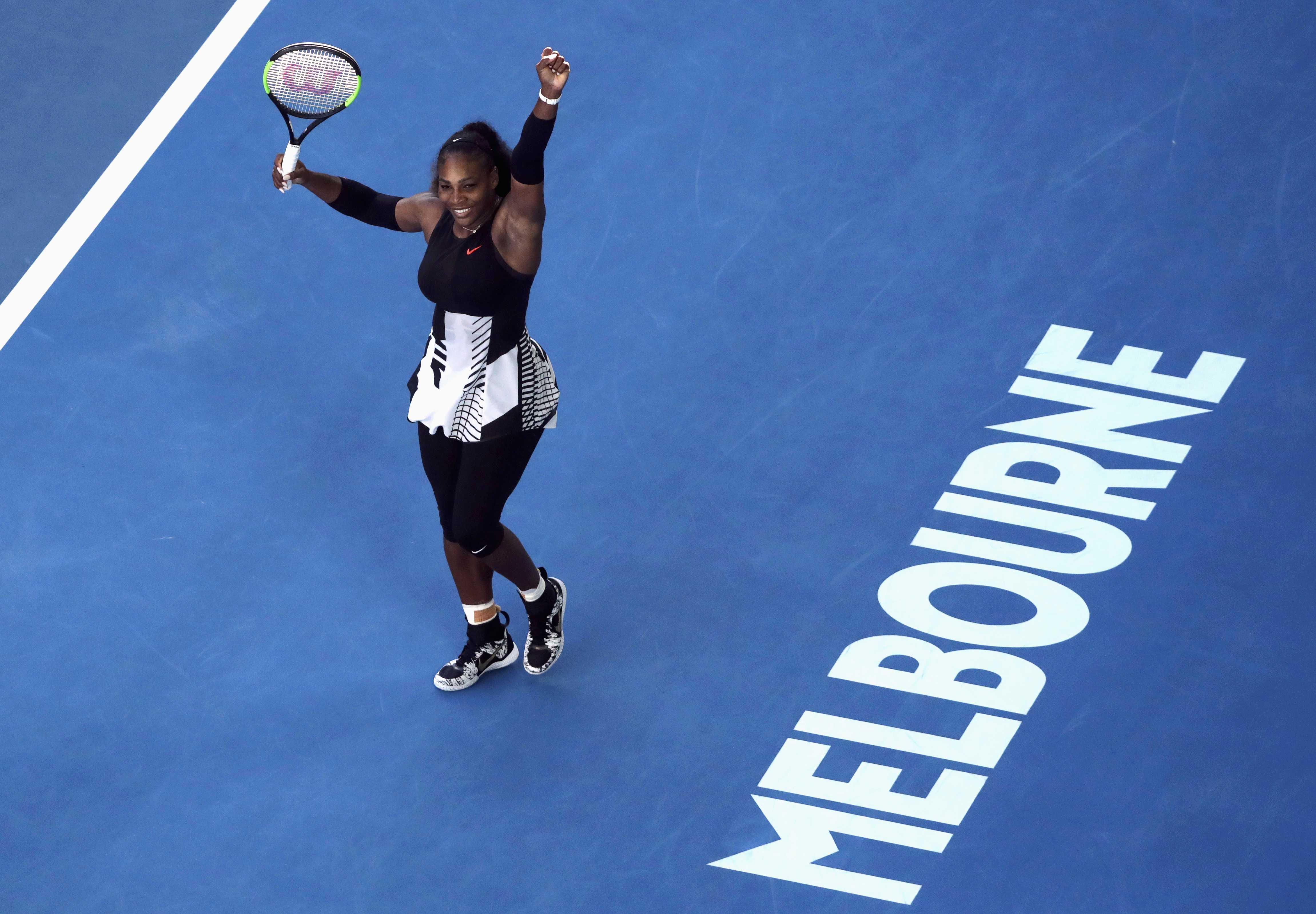 Tennis: Serena beats Lucic-Baroni, to meet sister Venus in final