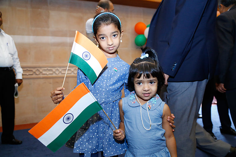 In pictures: Indians in Oman celebrating Republic Day