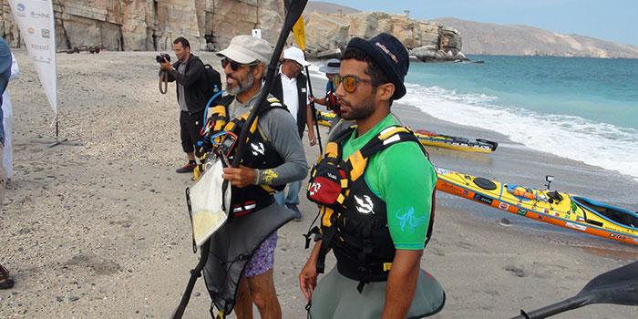 Kuwait Kayakers reach Oman to raise environmental awareness