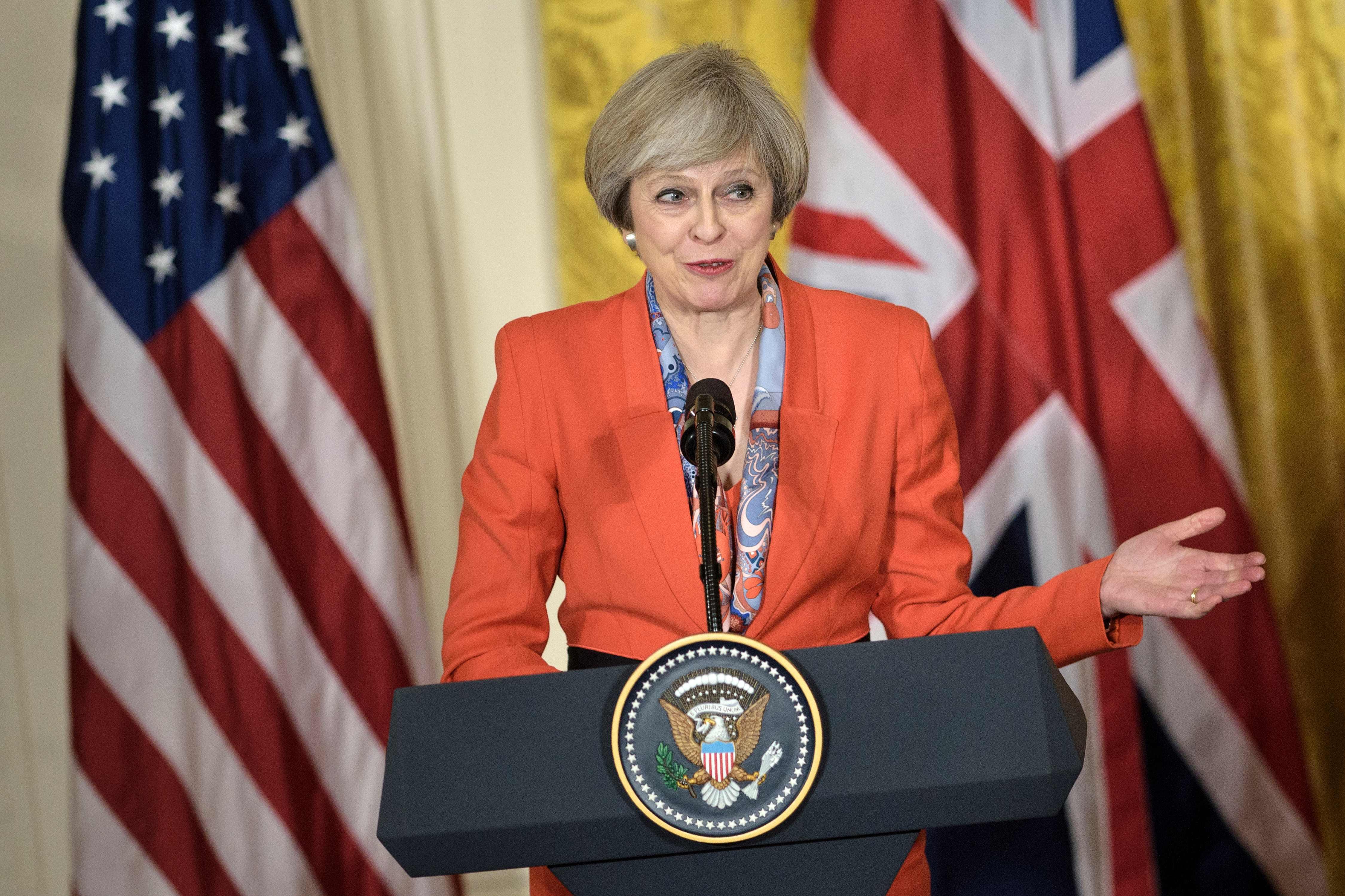 Theresa May's triple bet