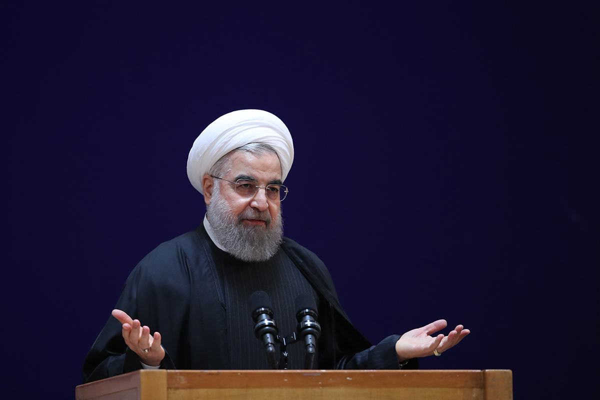 No time to create walls between nations, says Rouhani