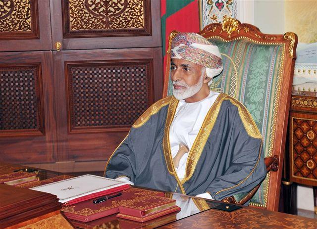 جلالة السلطان يهنئ ملك المملكة الأردنية الهاشمية