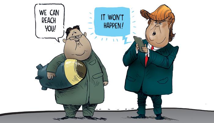 Trump, North Korea nuclear threat