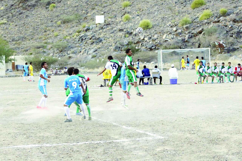 افتتاح بطولة الصداقة السابعة لثمانيات كرة القدم لفرق العوابي