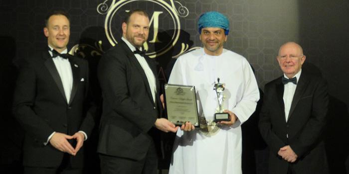 #OmanPride: Omani business leader honoured with MENAA 2016 awards