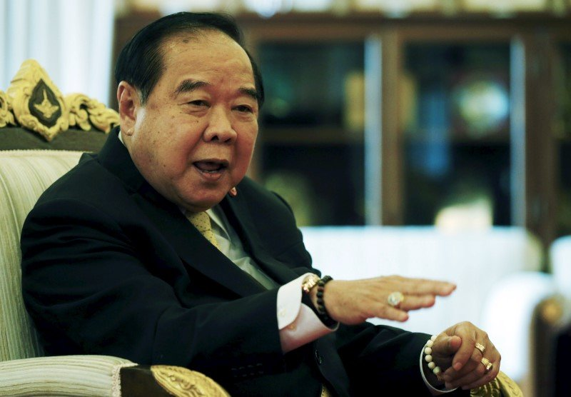 Thailand's deputy PM Prawit says 2017 general election on track