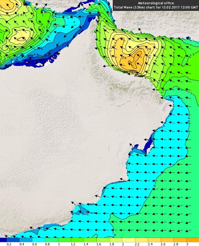 الأرصاد العُمانية: فرص لأمطار متفرقة على أجزء مختلفة من شمال السلطنة