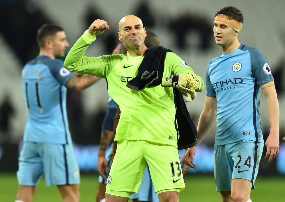 Football: Man City hit West Ham for five as United held to goalless draw by Hull