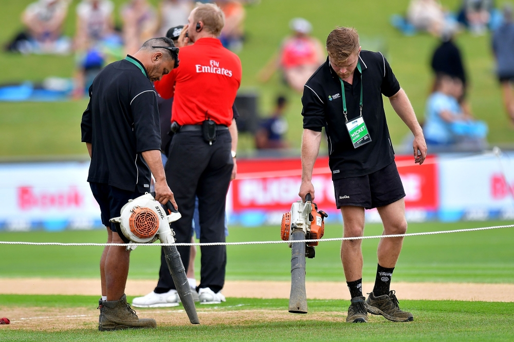 Cricket - New Zealand v Australia ODI called off due to unsafe outfield