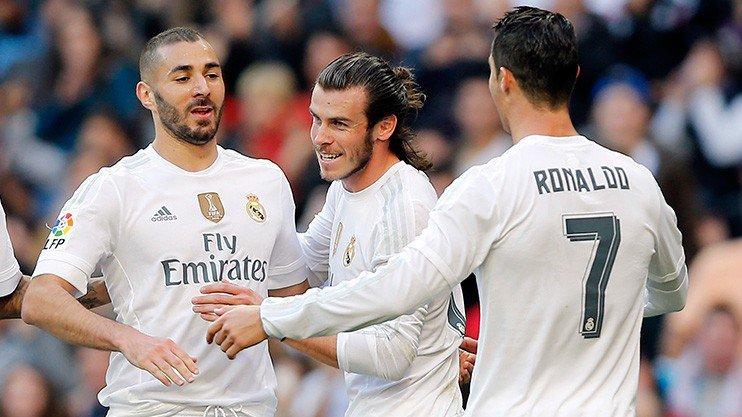 ريال مدريد يحقق نتائج أفضل بدون جاريث بيل والـ BBC