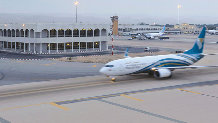 Rise in passenger traffic at airports in Oman