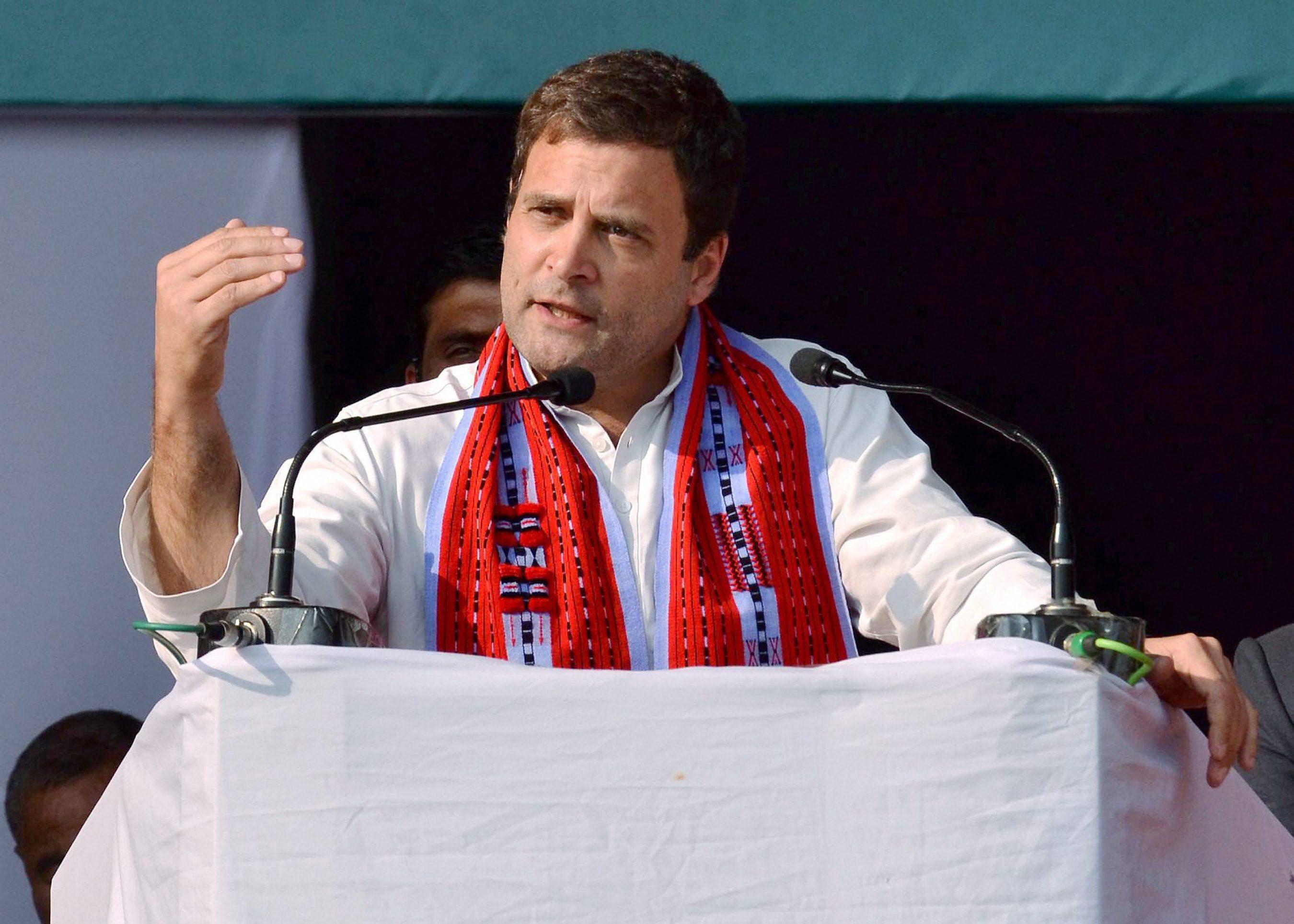 Modi should make contents of Naga Accord public: Rahul