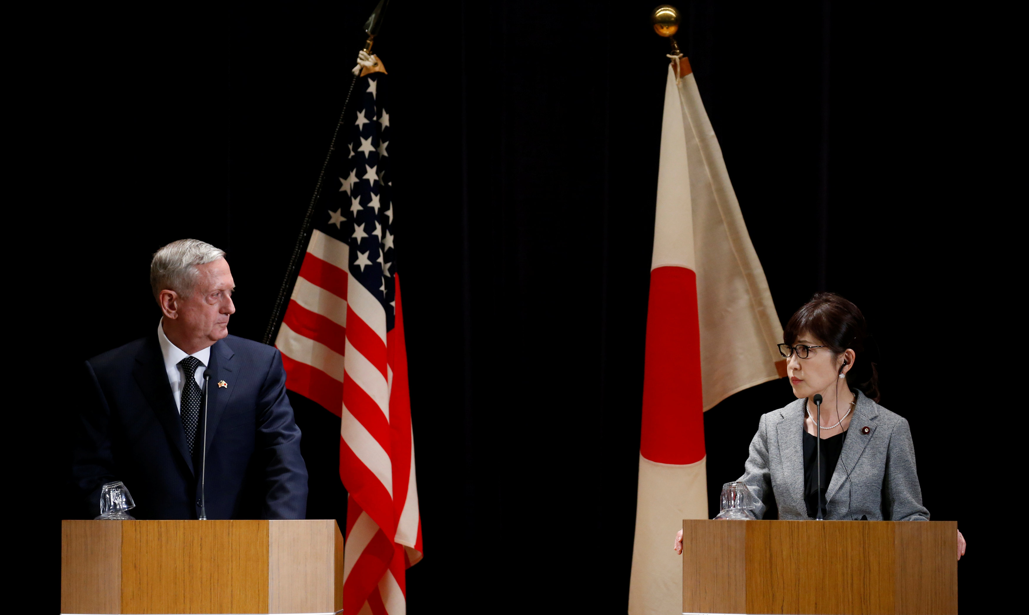 Mattis reaffirms US alliance with Japan