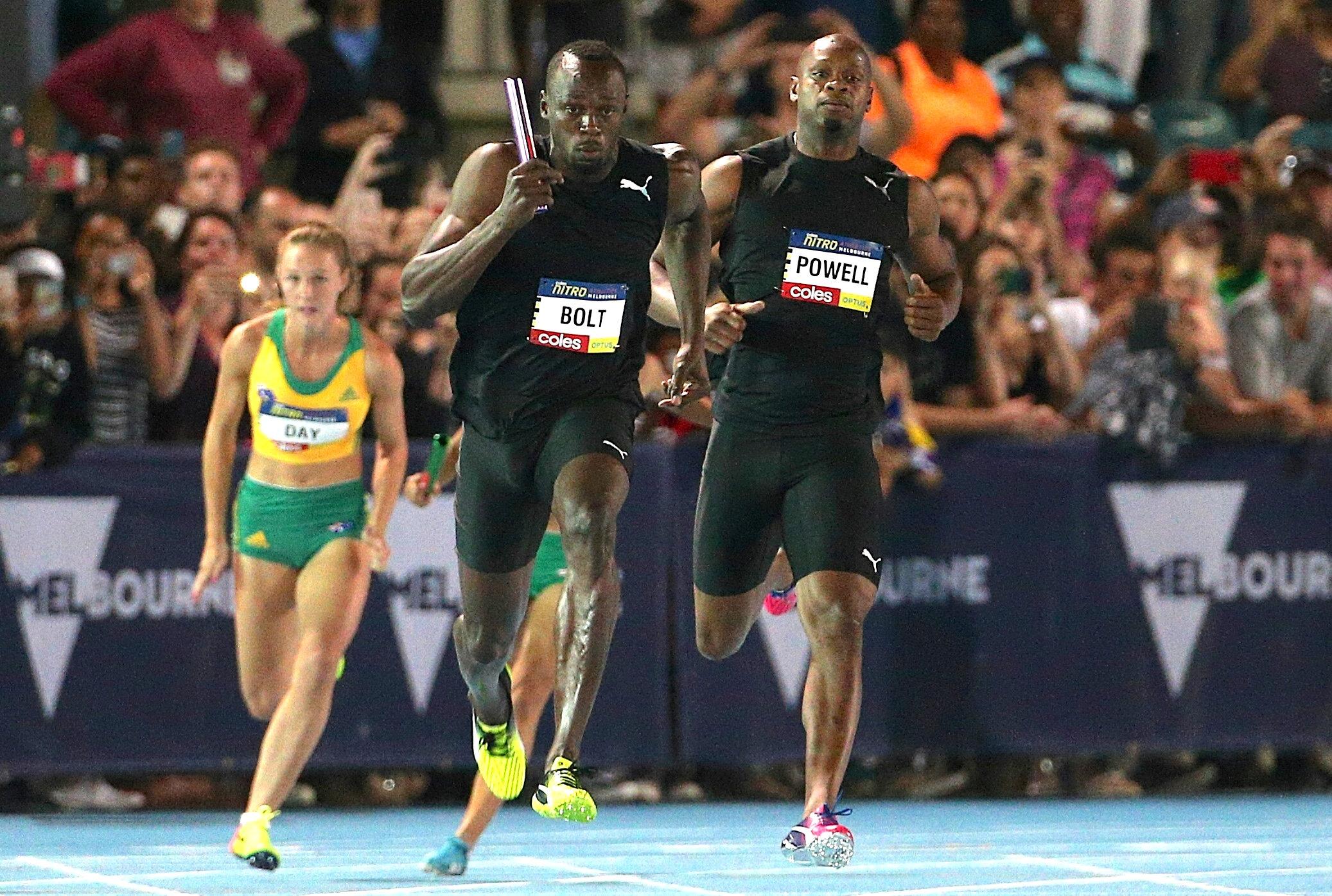 Athletics: Bolt sprinkles star-dust as athletics goes Hollywood