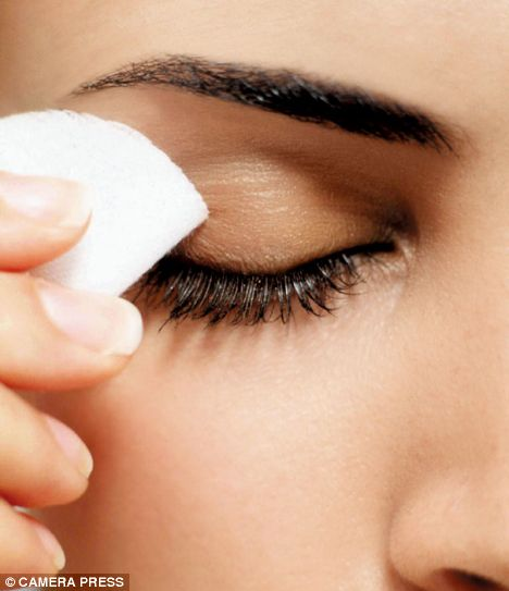 Your eye makeup could be making you sick