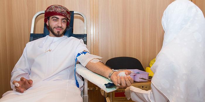 #OmanPride: Blood donation camp at Royal Opera House Muscat