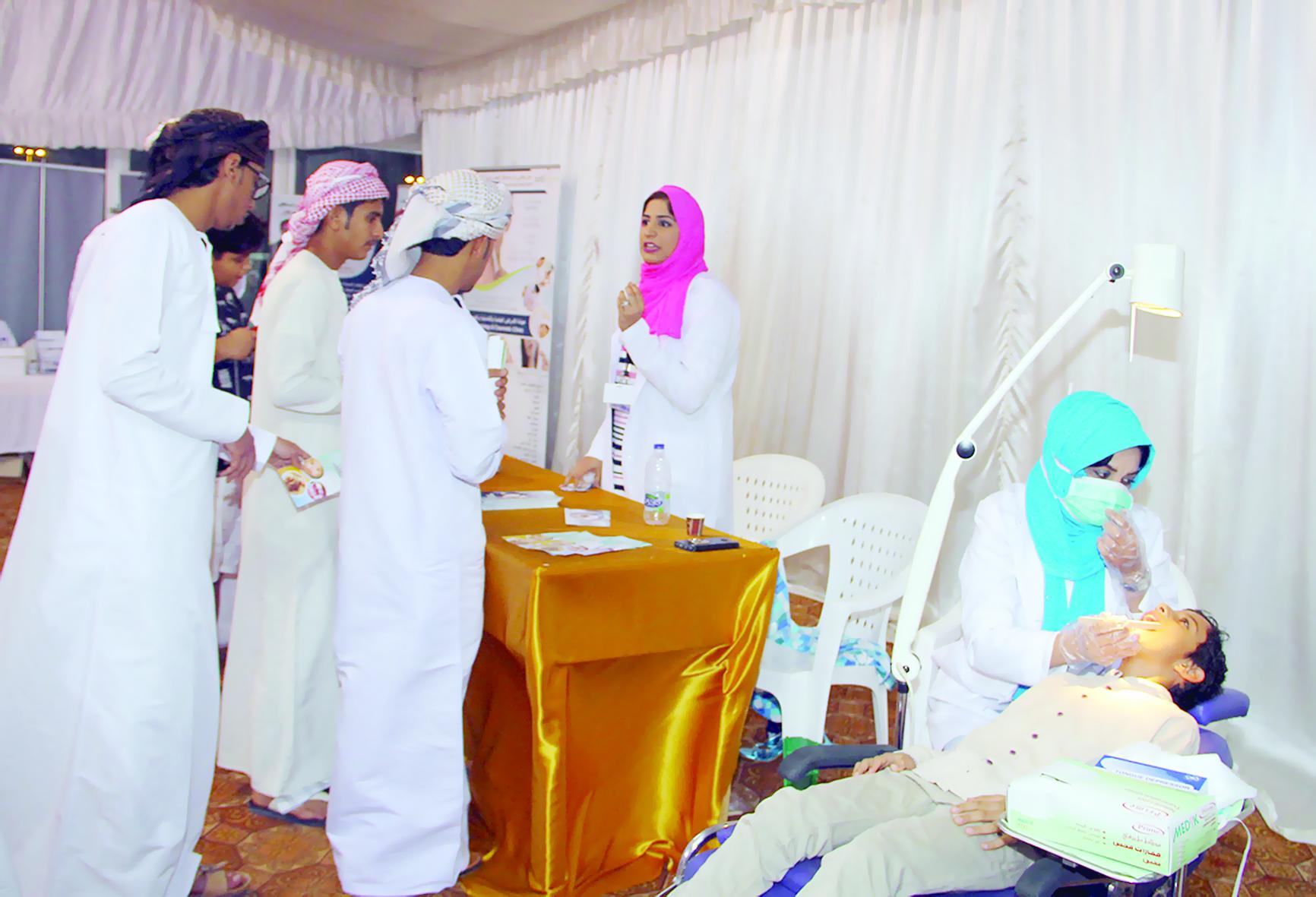 وزارة الصحة تشارك في المهرجان وتستهدف صحة الفم والأسنان
