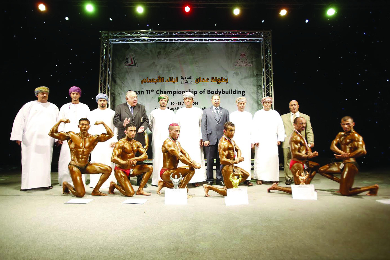 17 مارس انطلاق بطولة عمان الرابعة عشرة لبناء الأجسام
