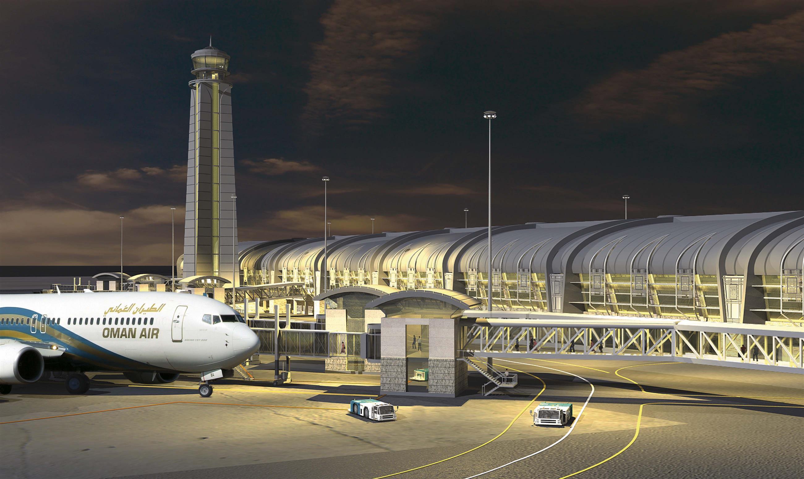 أكثر من مليون ونصف المغادرون والقادمون لمطار مسقط حتى يناير الفائت والهنود في المرتبة الأولى
