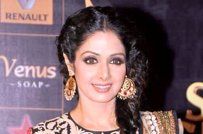 Sridevi looks intense and mysterious in first look of 'Mom'