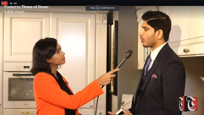 Watch: The Big Show with Rish Kitchens from Oman Convention Centre