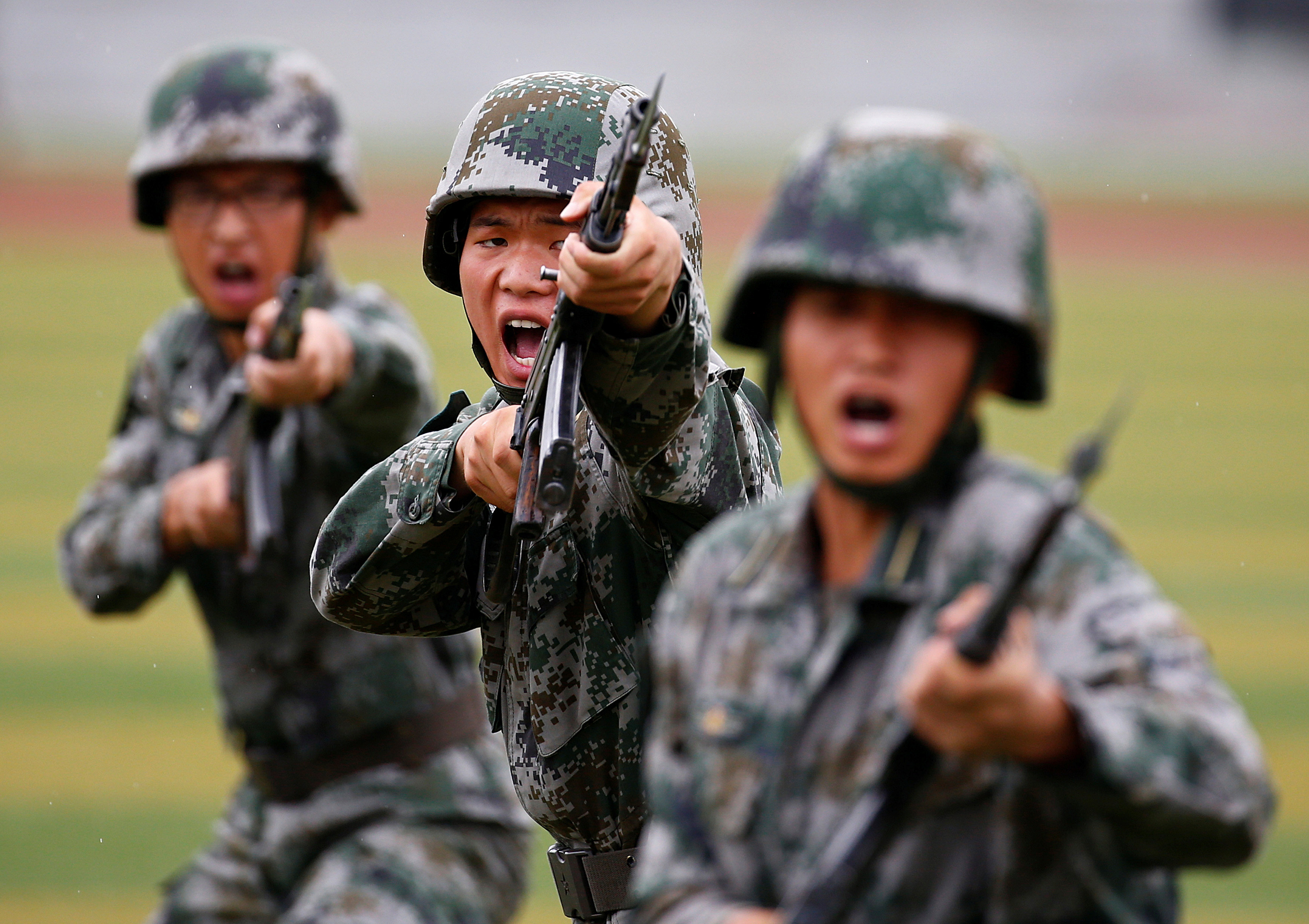 Taiwan says Chinese military threat grows