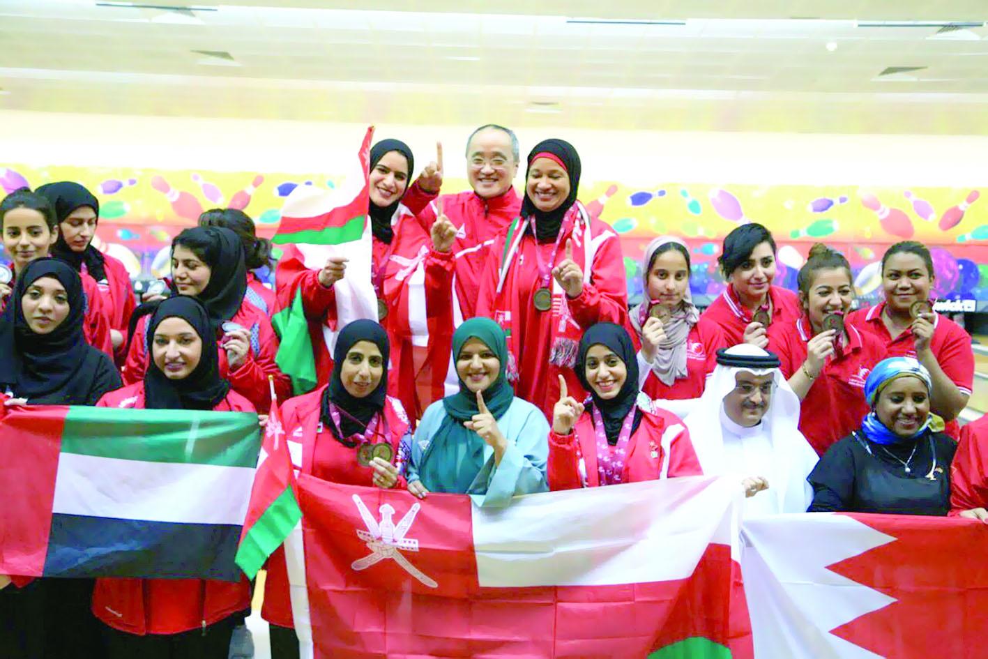 أداء مشرّف لفتيات منتخباتنا الوطنية في الدورة الخليجية32 ميدالية تؤكد أن رياضة النساء بالسلطنة تعيش مرحلة انتعاش