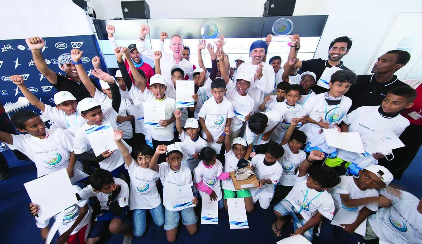مدرسة أبو عبالي تحرز لقب بطولة النهضة للمدارس للإبحار الشراعي