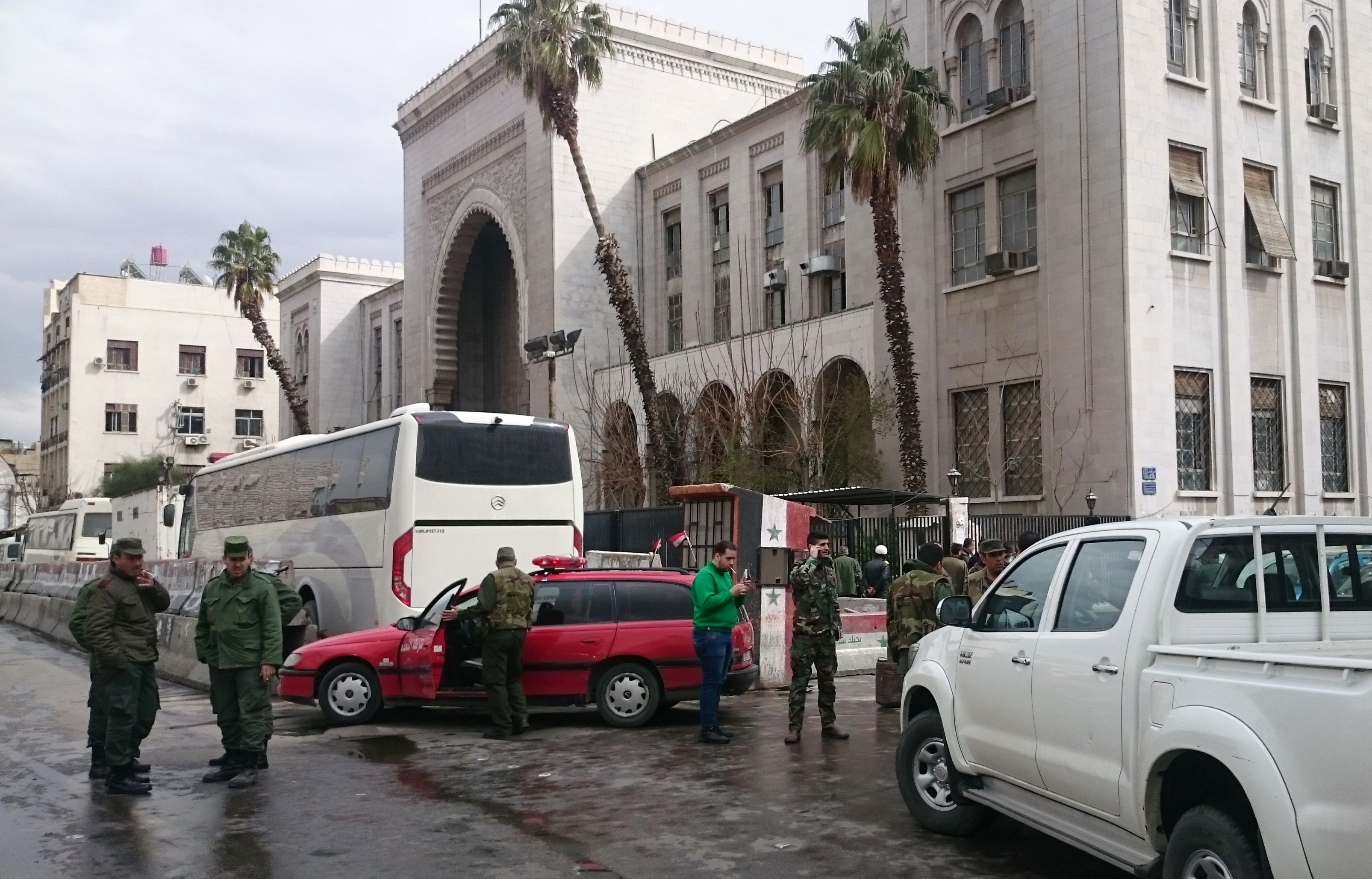 Dozens killed in double suicide attack in Syrian capital