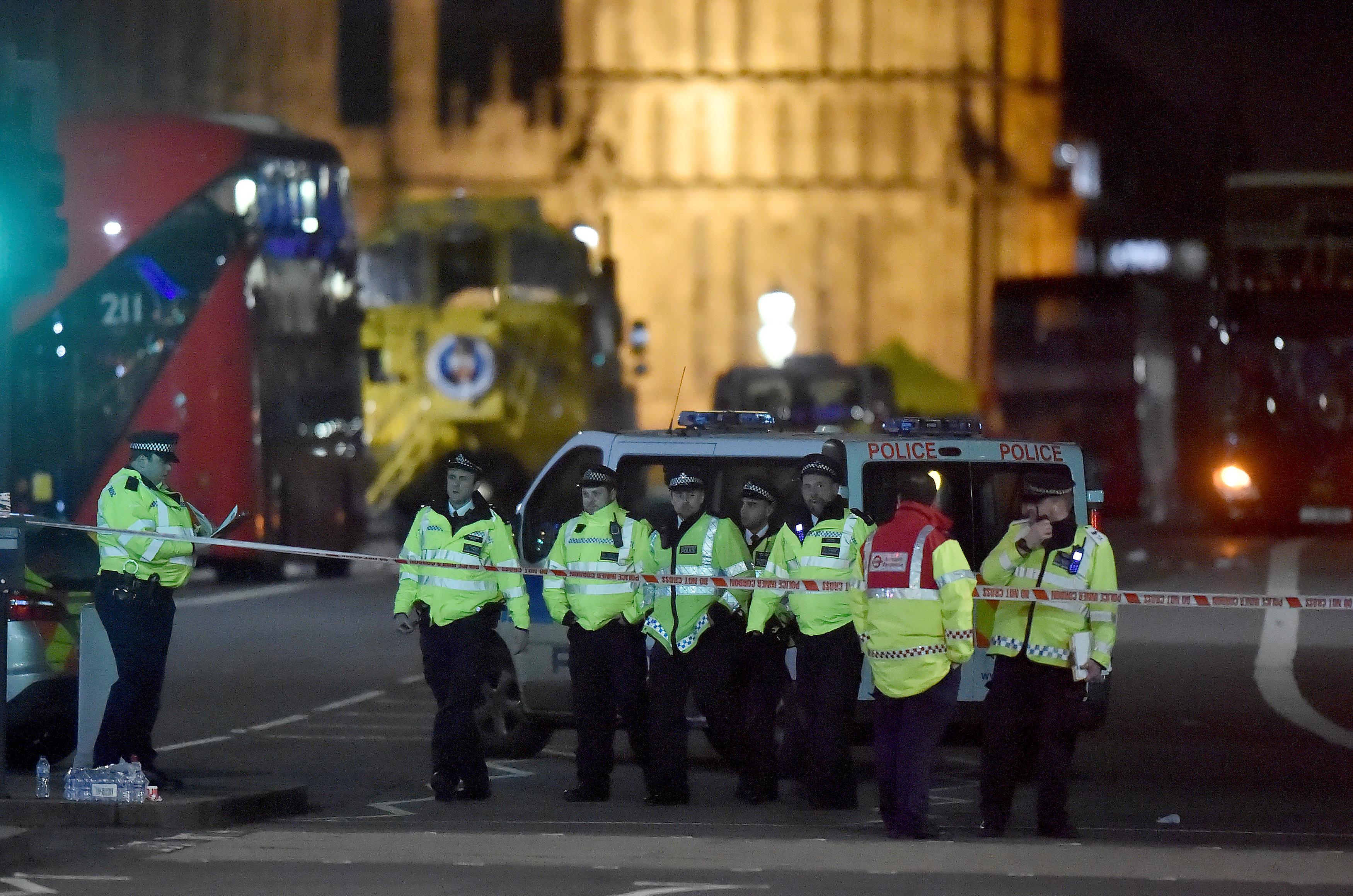 Five dead, around 40 injured in UK parliament 'terrorist' attack
