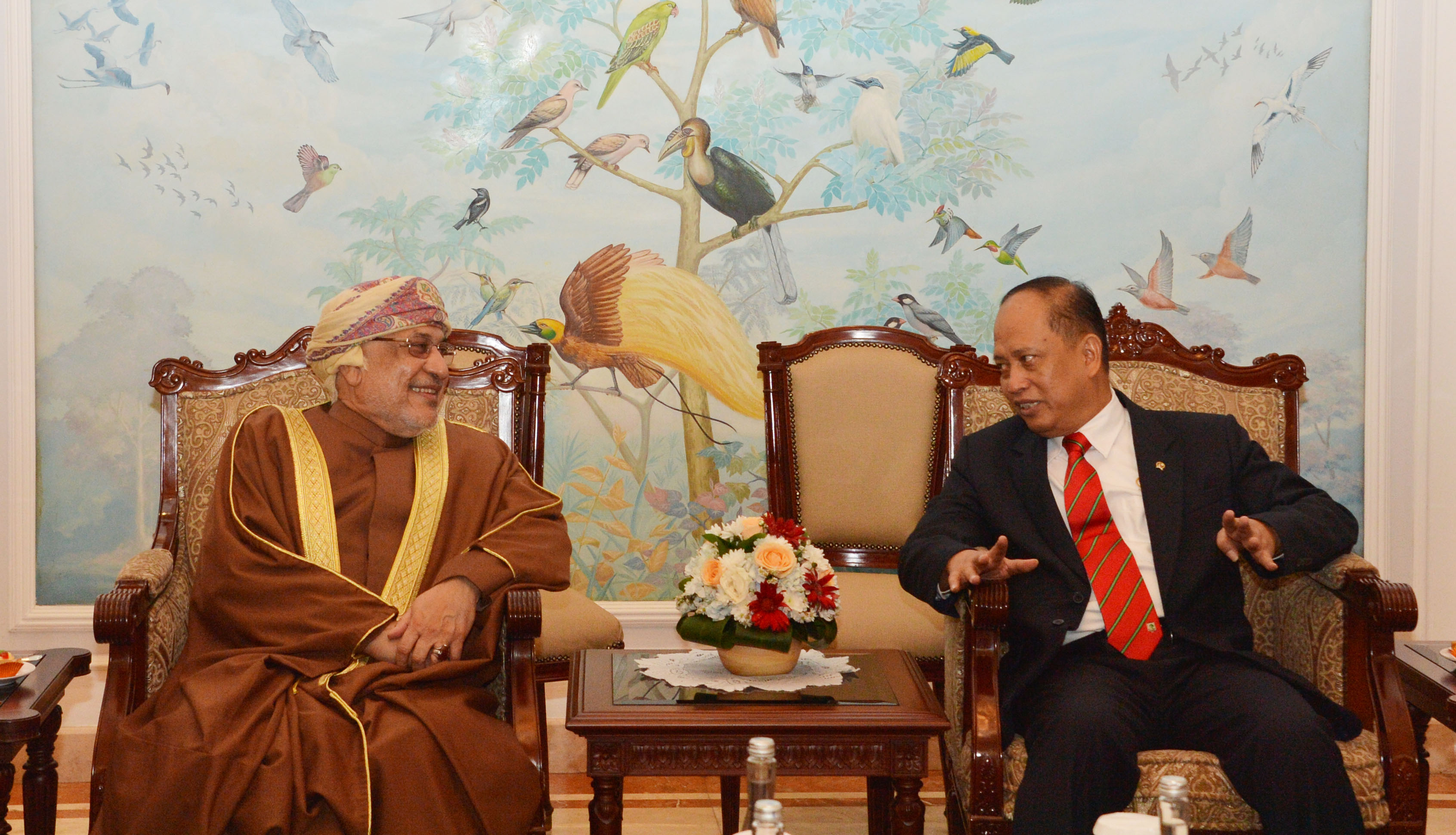 Oman's State Council chairman arrives in Jakarta