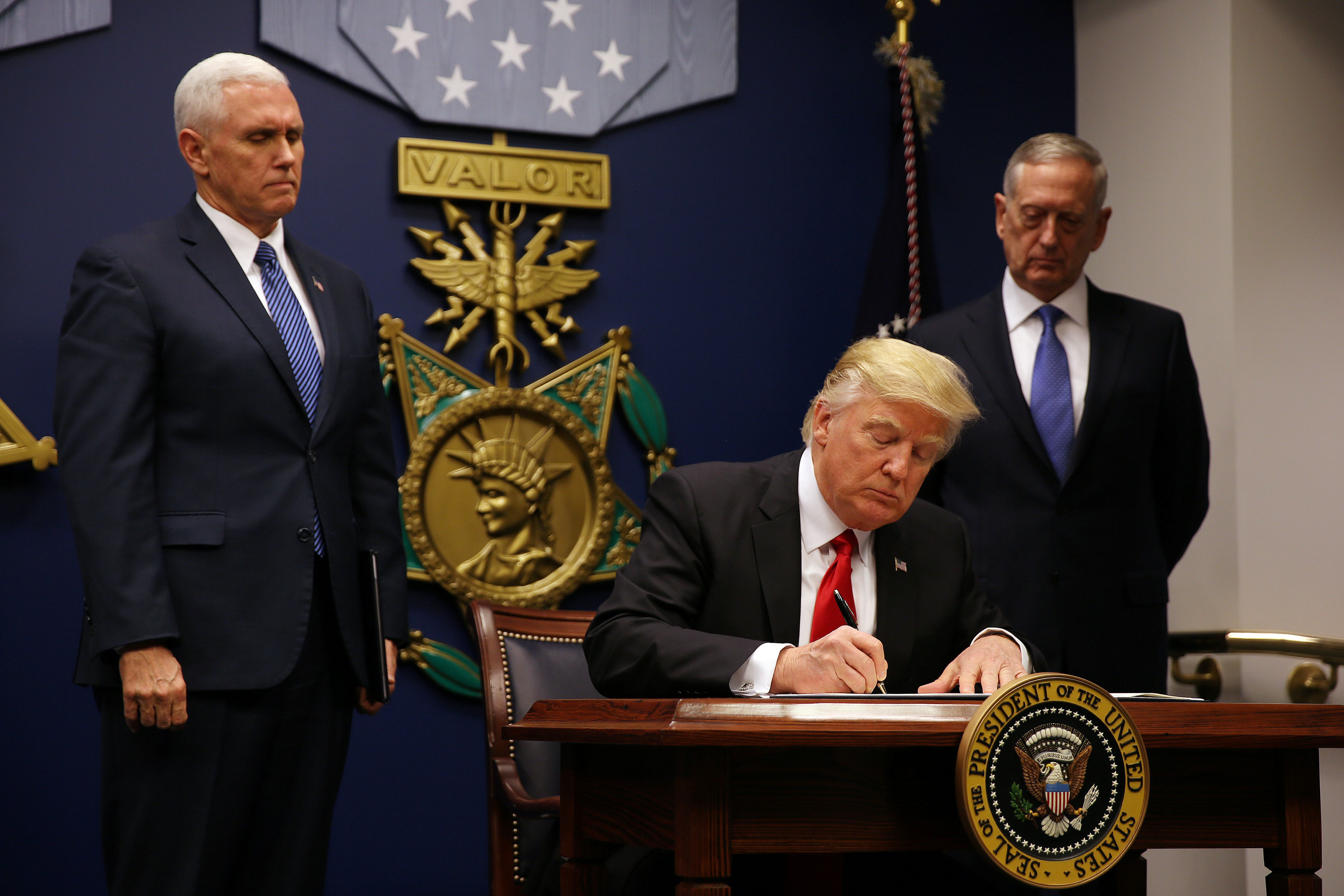 Trump's revised travel ban targets citizens of six Muslim-majority nations