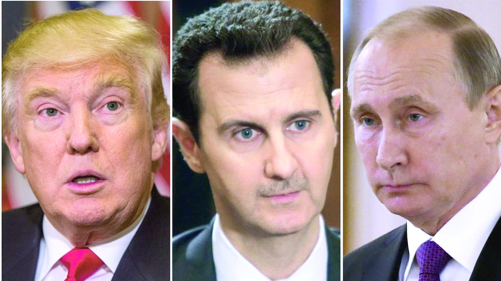 رهانات الرئيس الأمريكي تعتمد على تجاوب موسكو سوريا.. منحة ترامب أم محنته؟