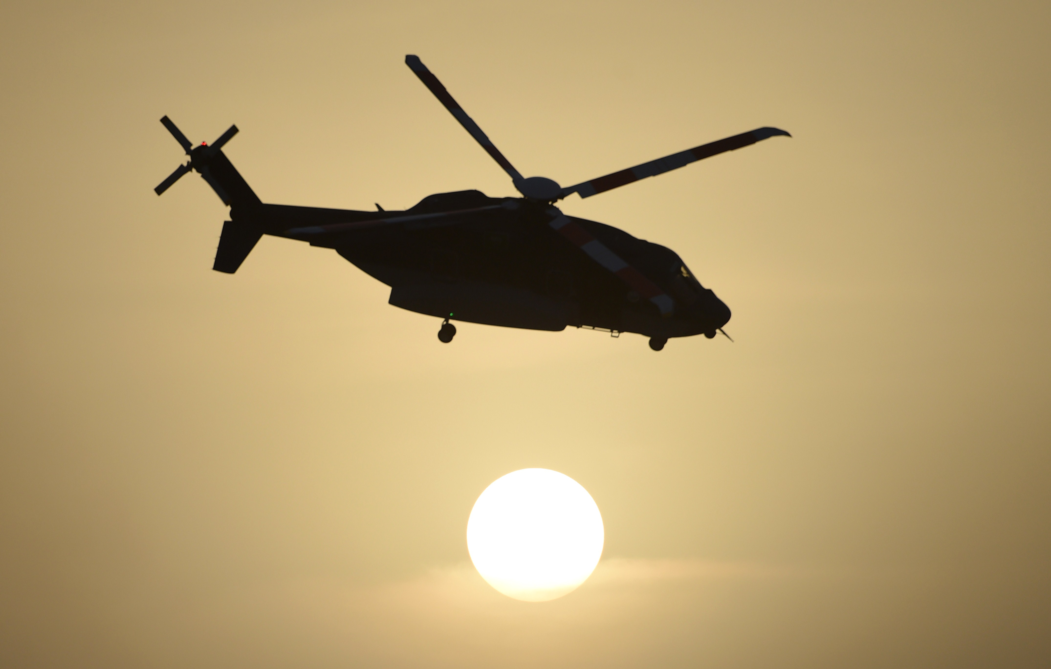 Saudi military helicopter crashes in Yemen, killing 12 officers