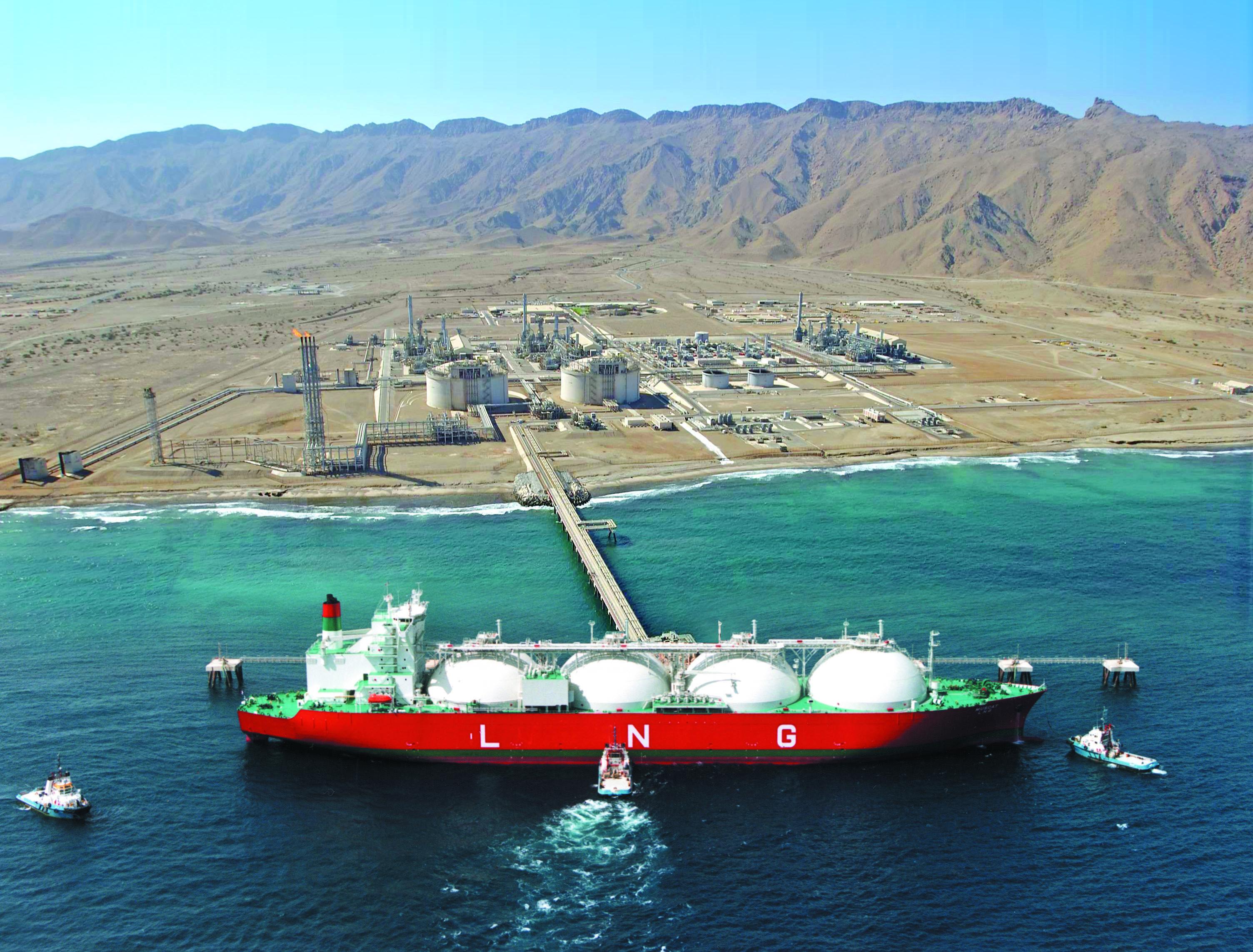 Oman LNG's production hits 8.5 million tonnes