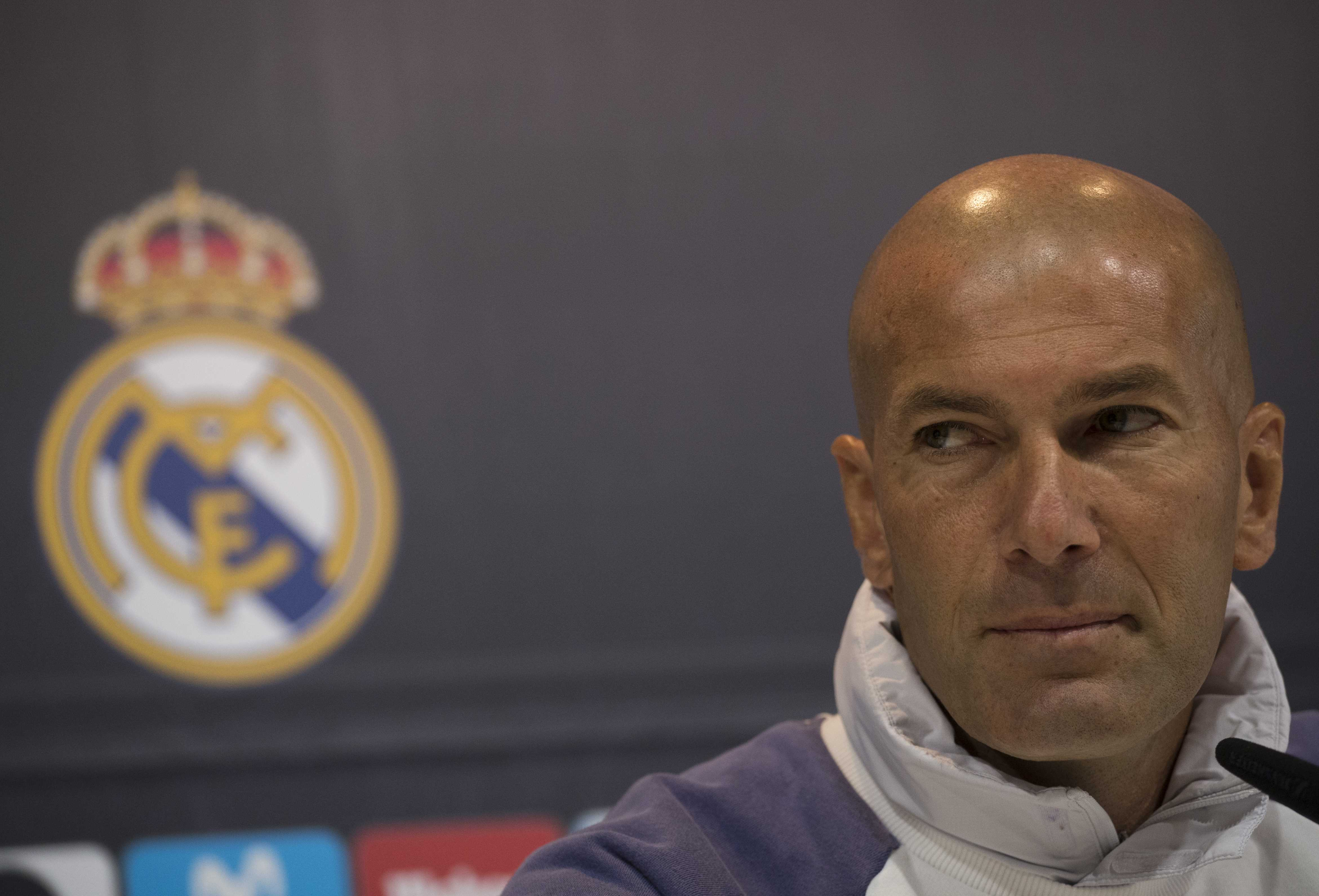 Clasico will not decide title race, says Real Madrid boss Zidane