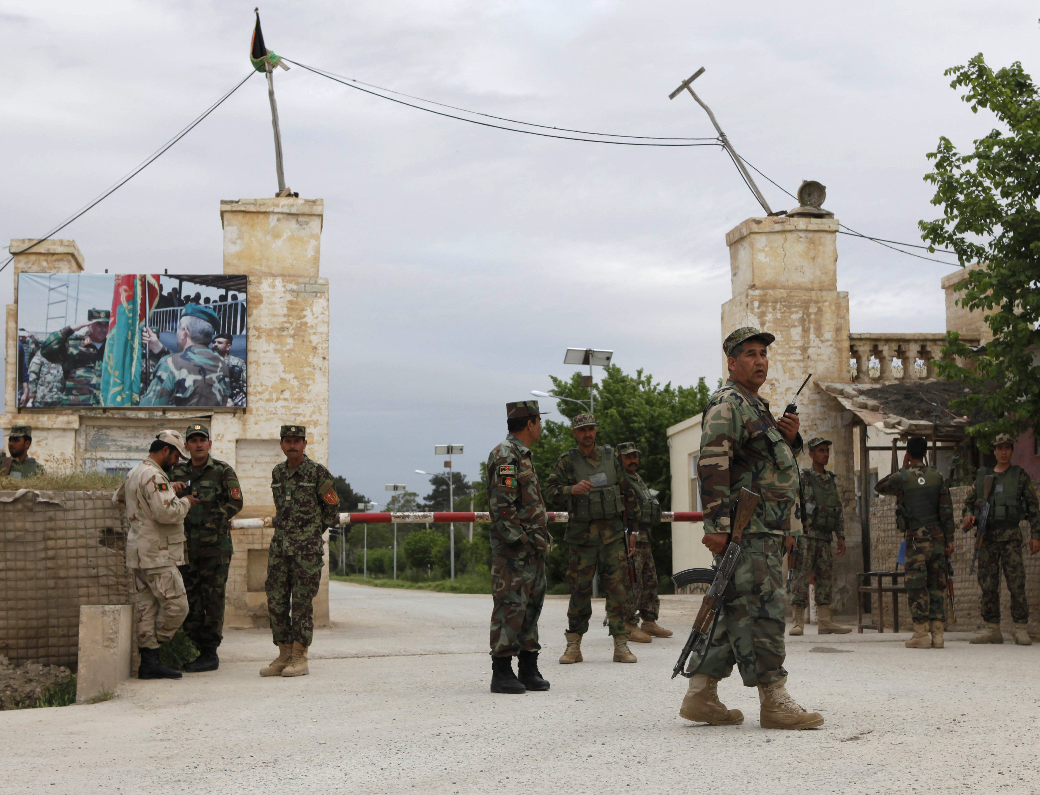 Taliban attackers kill at least 140 soldiers at Afghan base