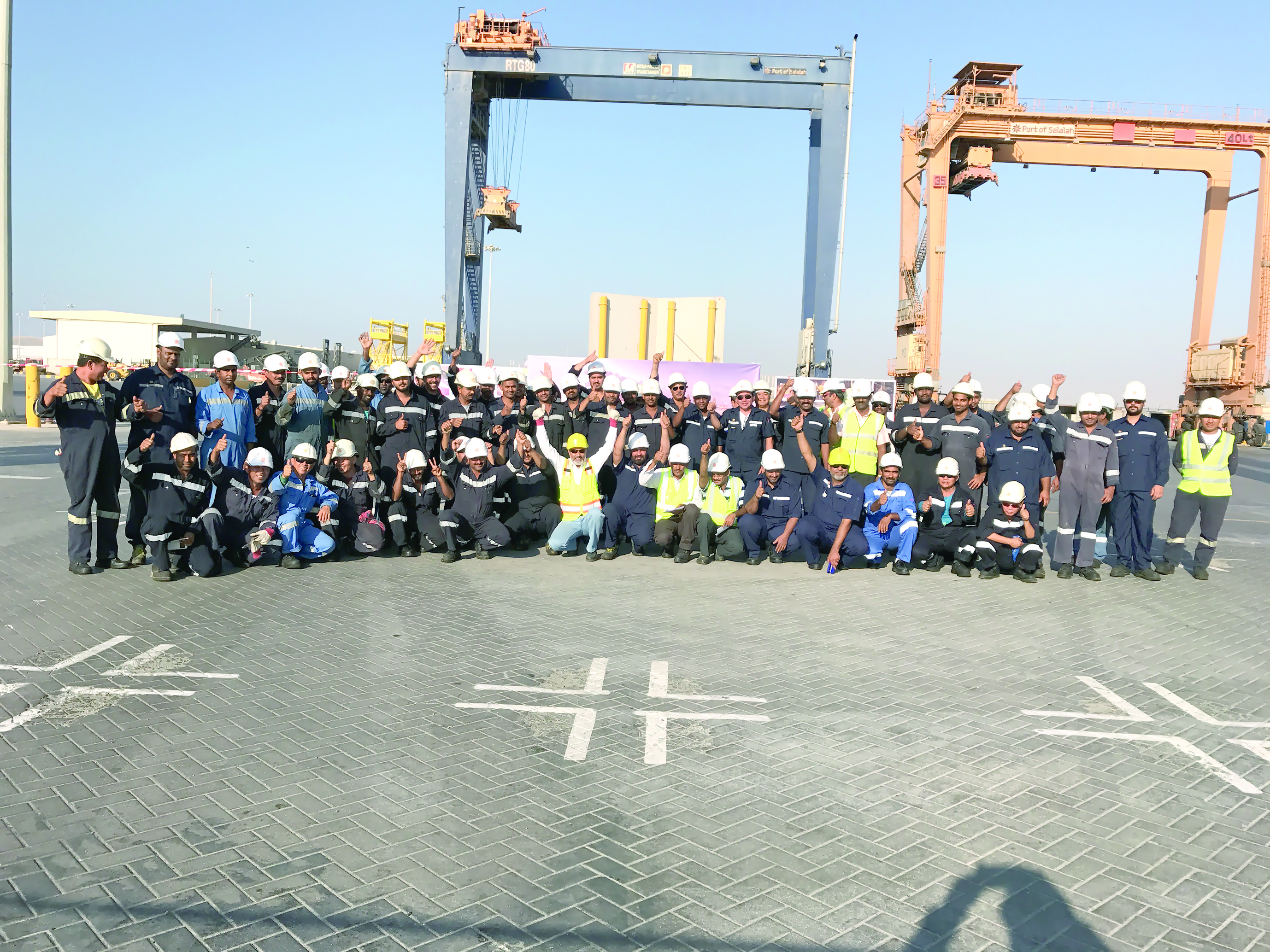 ميناء صلالة يركز على تعزيز مفاهيم السلامة
