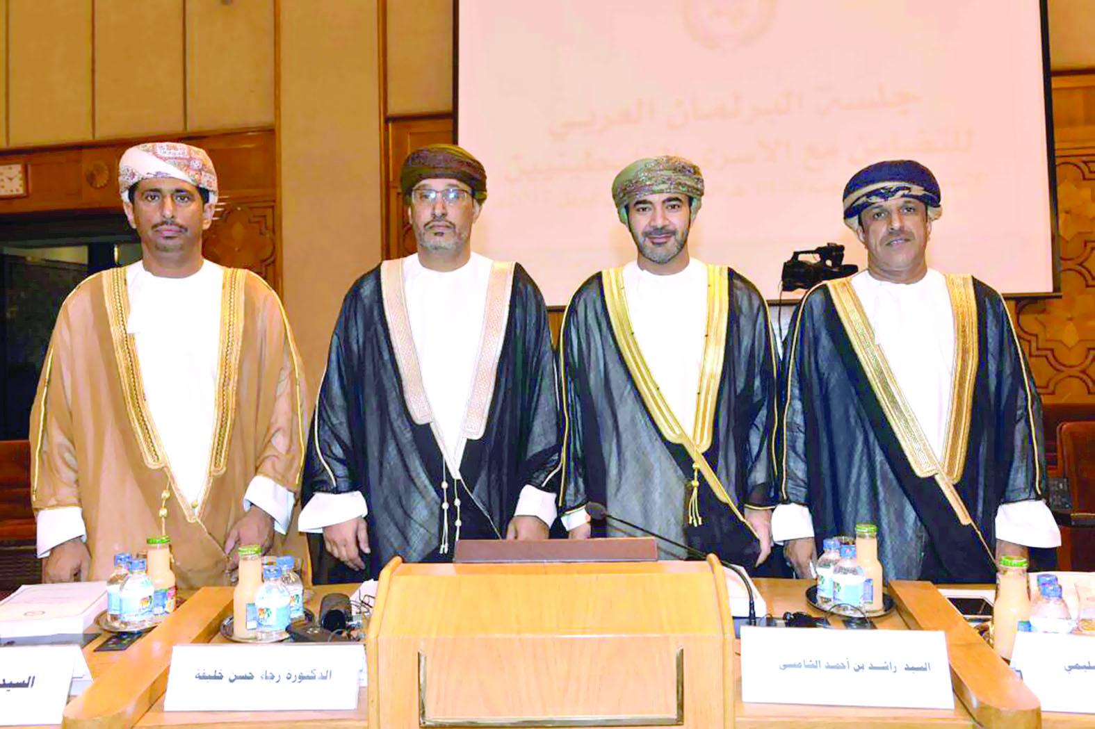 السلطنة تشارك في جلسة البرلمان العربي