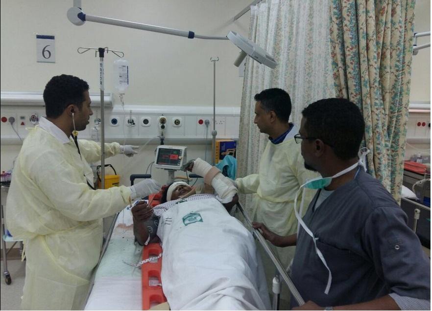 حادث هيماء بالصور.. وهذه جهود وزارة الصحة