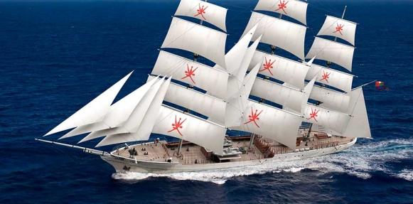 """سفينة """"شباب عمان الثانية""""  تبدأ رحلة دولية.. غدا"""