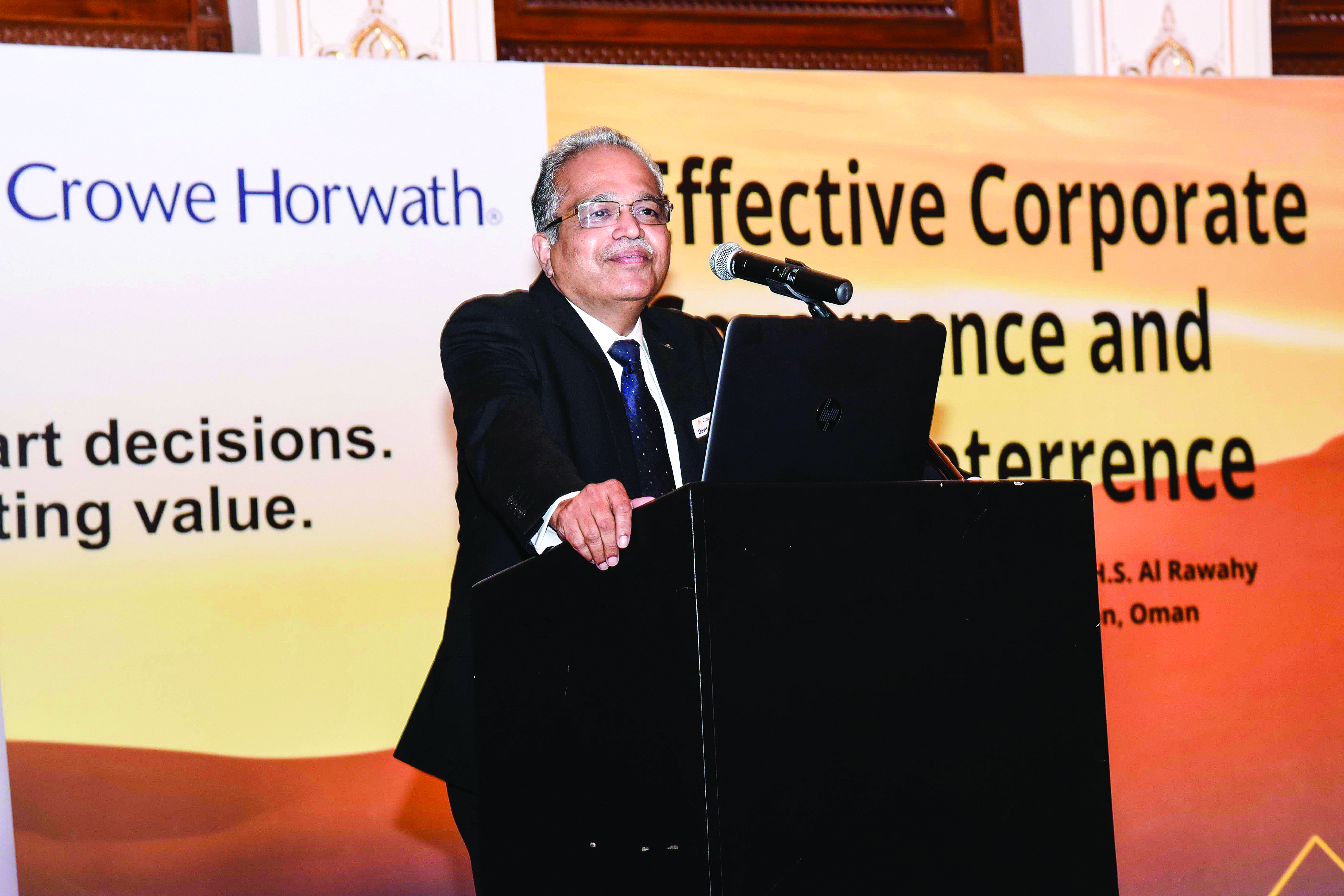 Audit firm calls for effective corporate governance